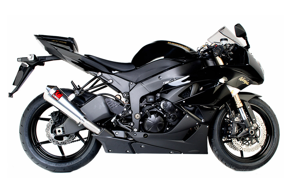 ZX6R09-EKA85-Stainless-Power-Cone-Side-View-1000
